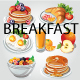 Breakfast Item Set - GraphicRiver Item for Sale