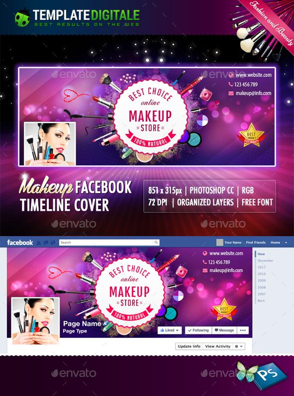 Makeup Timeline - Facebook Timeline Covers Social Media