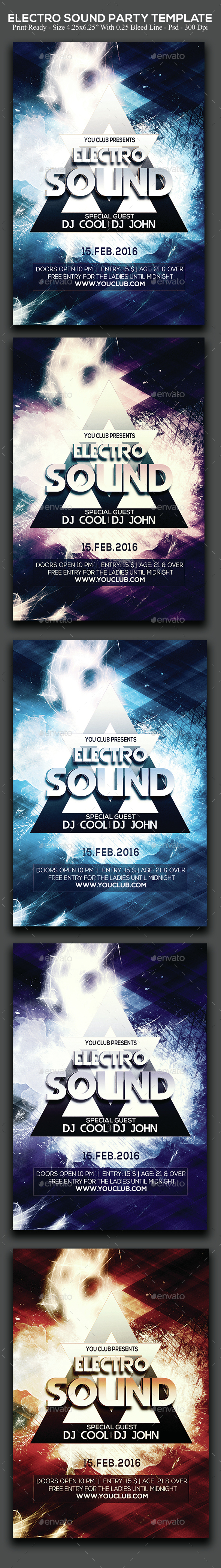 Electro Sound Party - Clubs & Parties Events