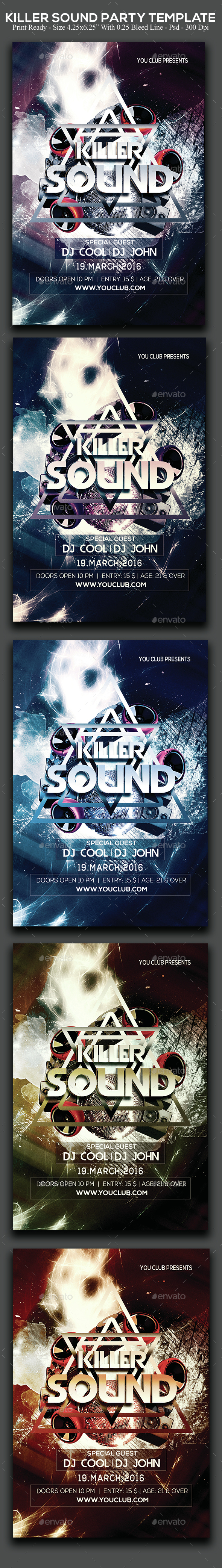 Killer Sound Party - Clubs & Parties Events