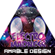 Electro Madness Party Flyer - GraphicRiver Item for Sale