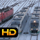 Train Arriving at the Station - VideoHive Item for Sale