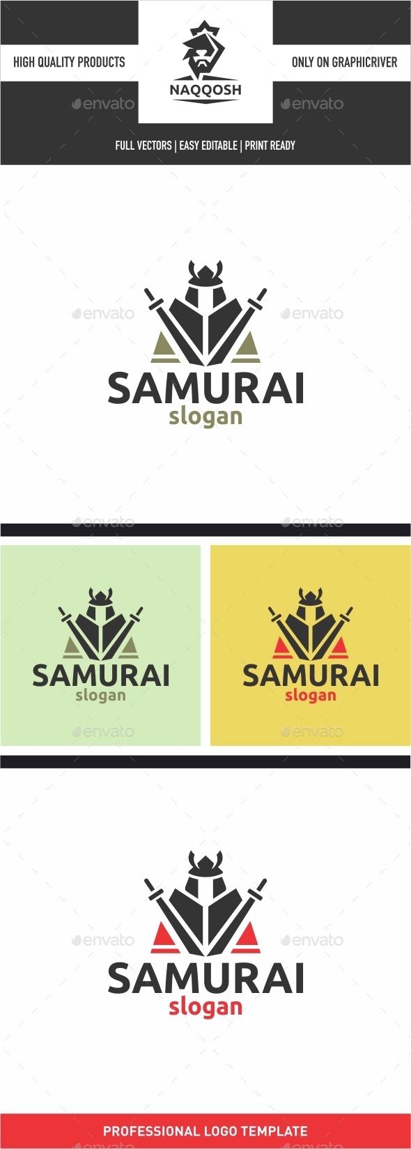 Samurai - Humans Logo Templates