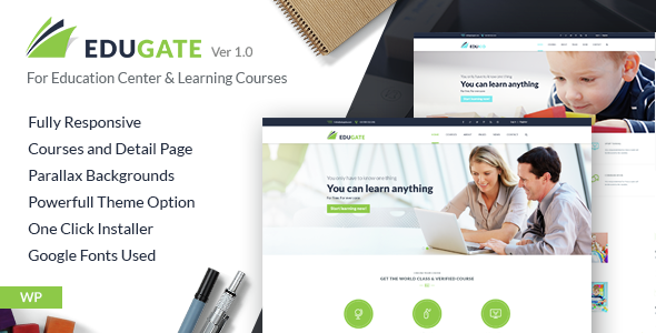 EduGate - Multiconcept Education WordPress Theme
