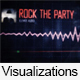Pixel Screen Music Spectrum Visualizer - VideoHive Item for Sale