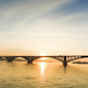 Sunset Behind the Bridge  - VideoHive Item for Sale