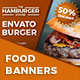 Food Banners - GraphicRiver Item for Sale