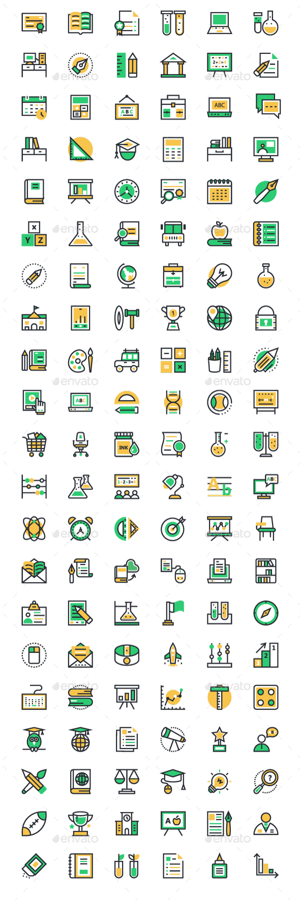 125+ School and Education Icons - Icons