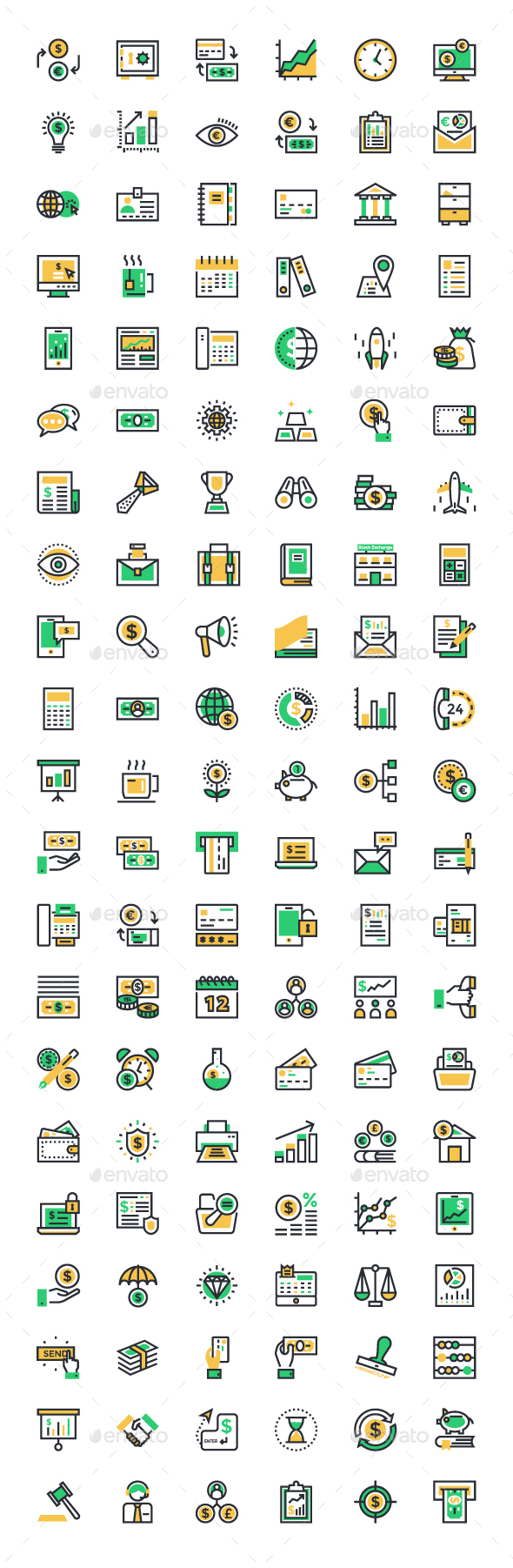 125 Business and Finance Icons - Business Icons