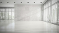 Empty white room 3D rendering - PhotoDune Item for Sale