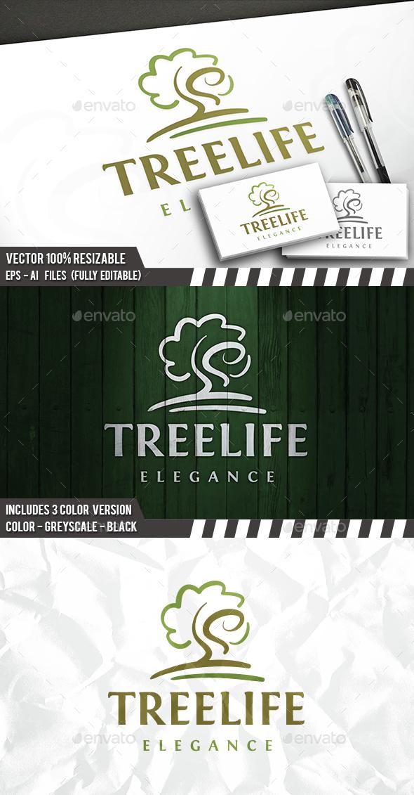 Creative Tree Logo - Nature Logo Templates