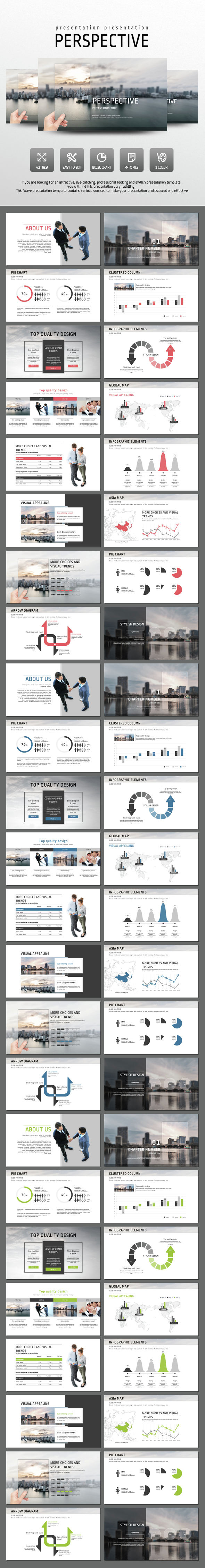 Perspective - PowerPoint Templates Presentation Templates
