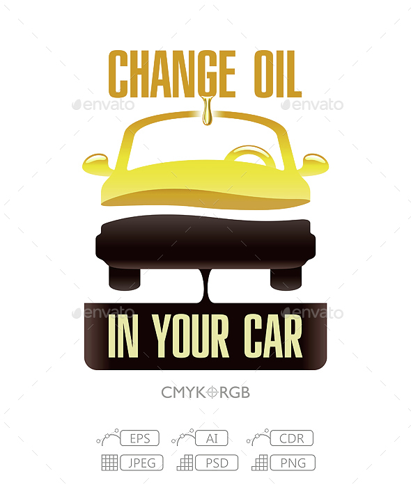 Change Engine Oil in Your Car - Services Commercial / Shopping