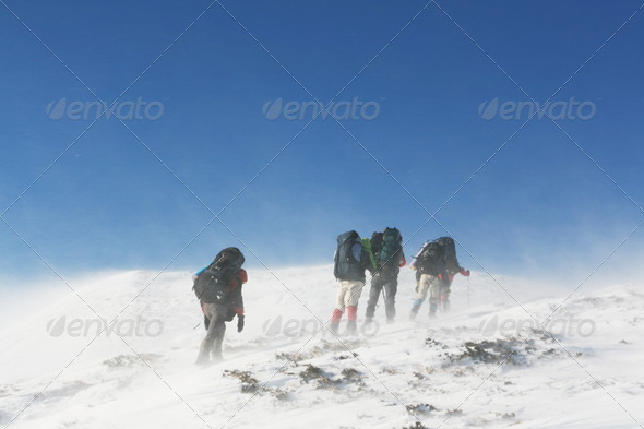 Winter sport - Stock Photo - Images