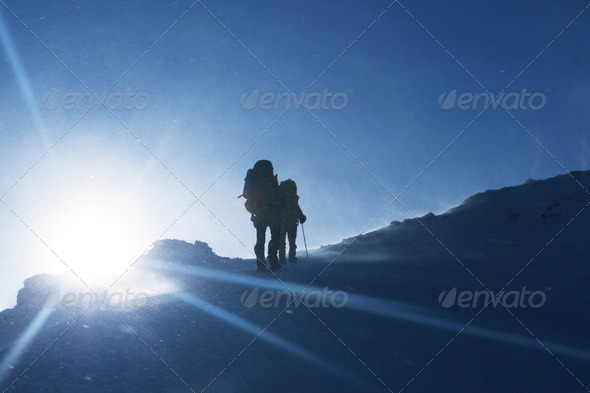 The climb - Stock Photo - Images