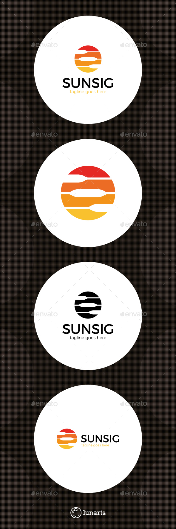 Circle Signal Logo - Abstract Logo Templates