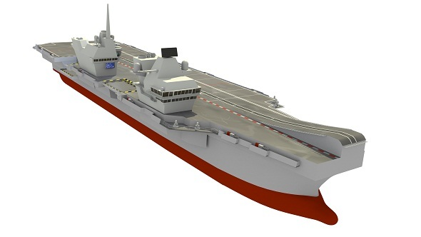 HMS Queen Elizabeth Aircraft Carrier - 3DOcean Item for Sale