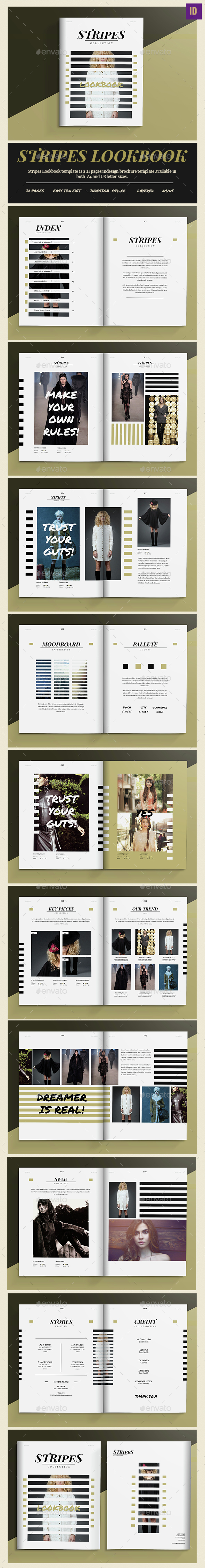 Stripes LookBook/Catalogue - Catalogs Brochures