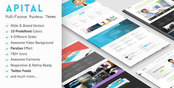 Apital - Ultra Premium Business Drupal Theme - Business Corporate