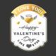 Set of 9 St. Valentine's Badges - GraphicRiver Item for Sale
