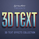 Retro Vintage 3D Text Effects - GraphicRiver Item for Sale
