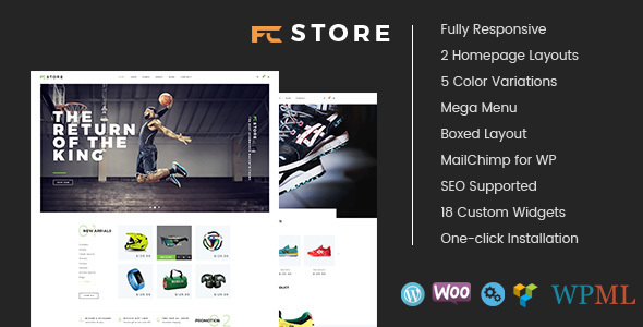 FcStore – Responsive WooCommerce WordPress Theme