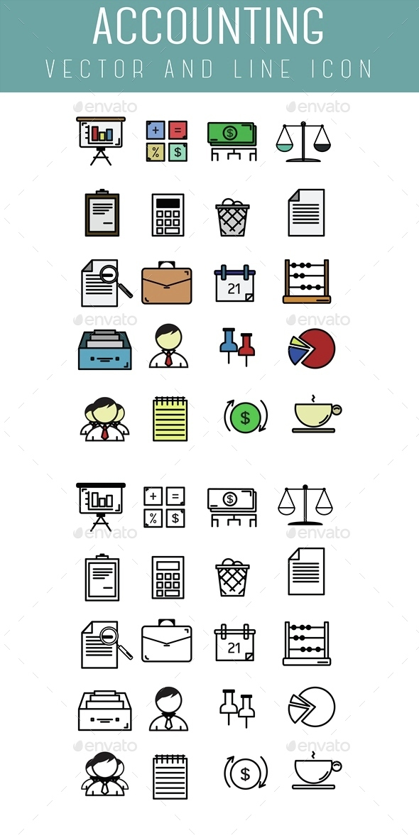 Accounting Icon - Business Icons
