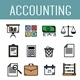 Accounting Icon - GraphicRiver Item for Sale