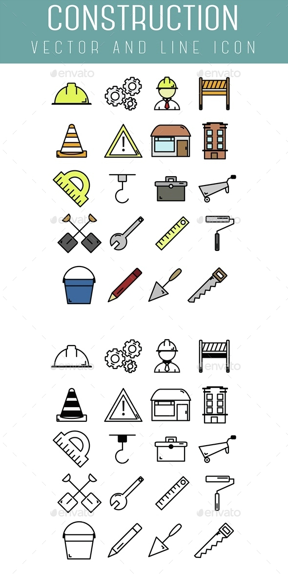 Construction Icon - Business Icons
