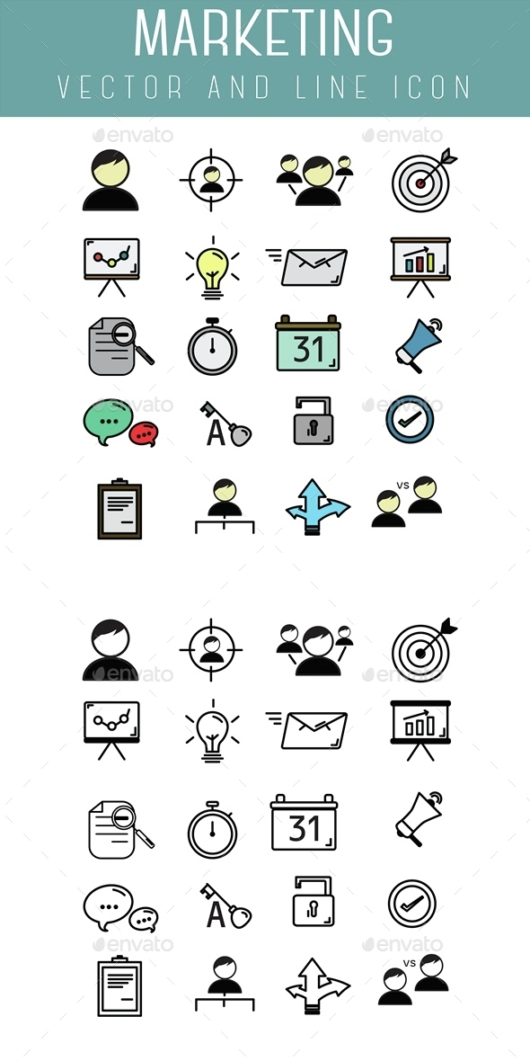 Marketing Icon - Business Icons