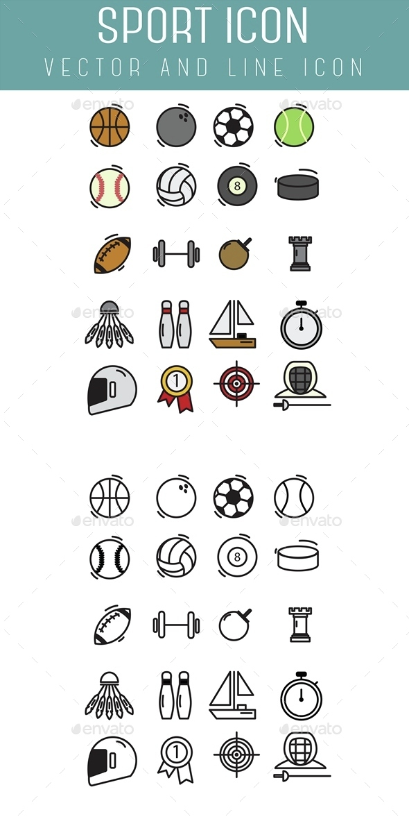 Sport Icon - Objects Icons