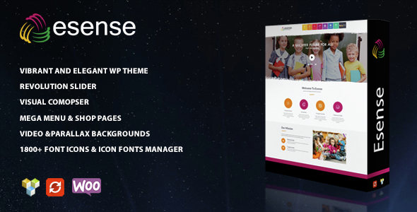 Esense – Vibrant and elegant WP theme