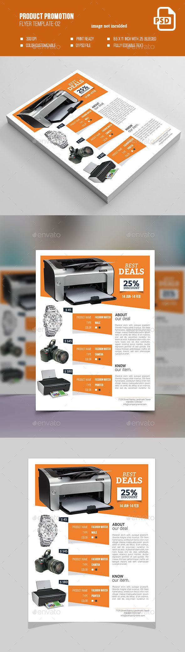 Product Promotion Flyer-02 - Commerce Flyers