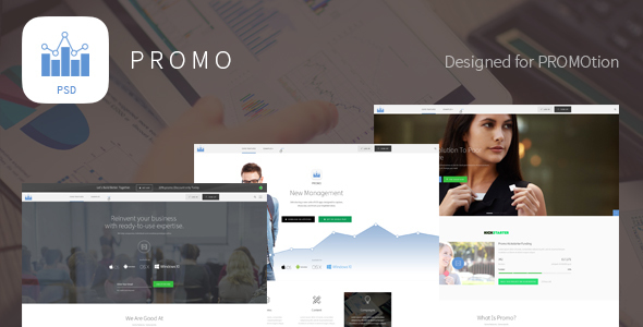 PROMO – Corporate Marketing PSD Template