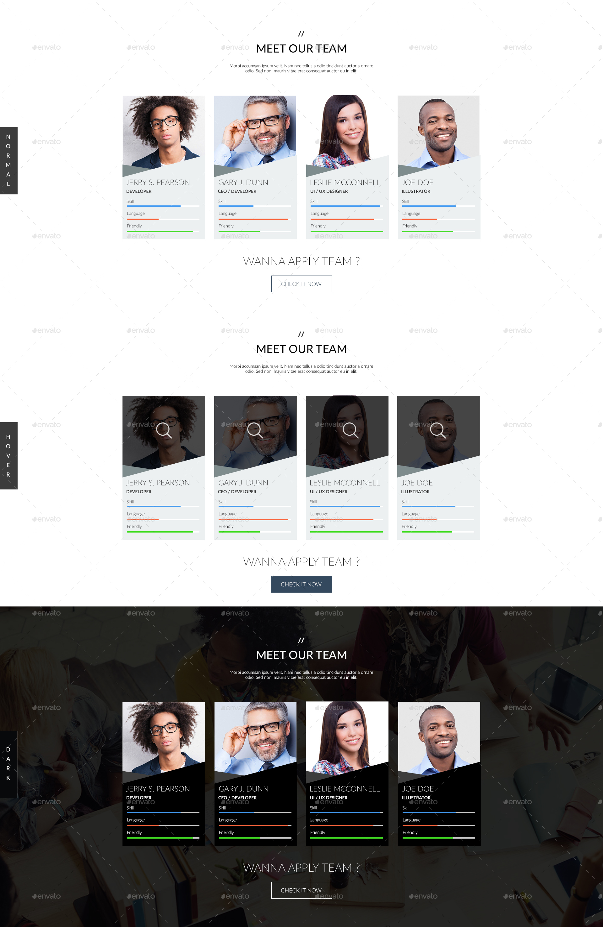 Our Team Designs Psd Template by IamNemo | GraphicRiver