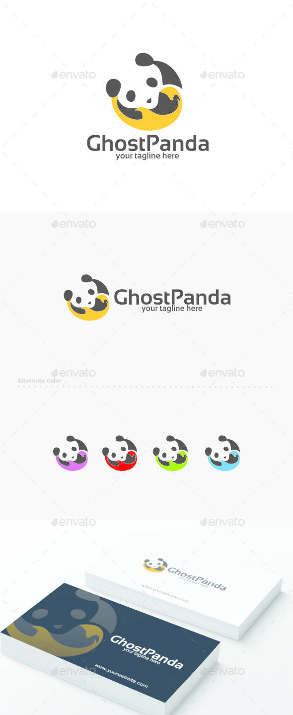 GhostPanda - Logo Template - Abstract Logo Templates