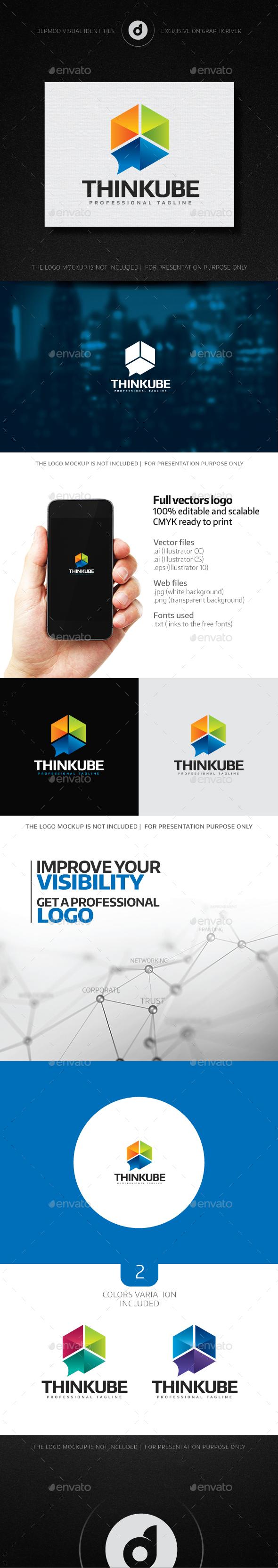 Thinkube Logo - Abstract Logo Templates