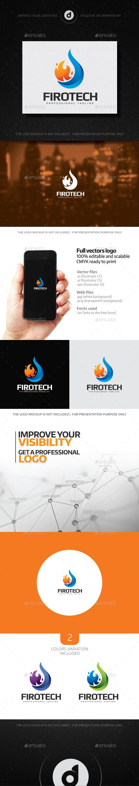 Firotech Logo - Nature Logo Templates