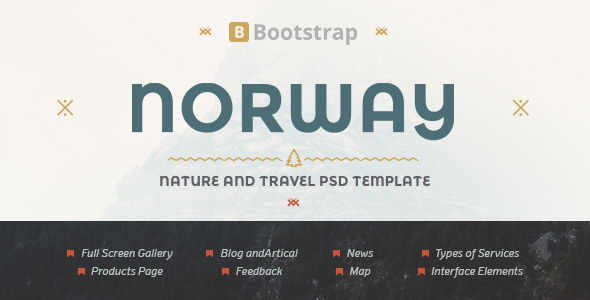 NorwayTheme – Nature Travel Template