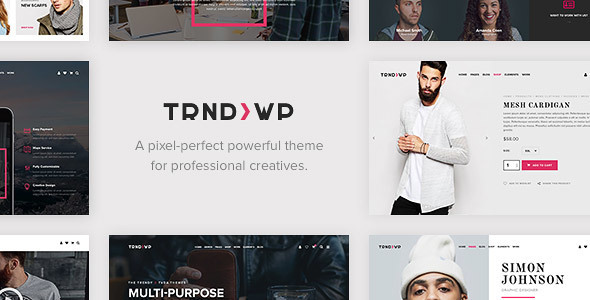 Trendy - Creative Multi-Purpose WordPress Theme - Creative WordPress
