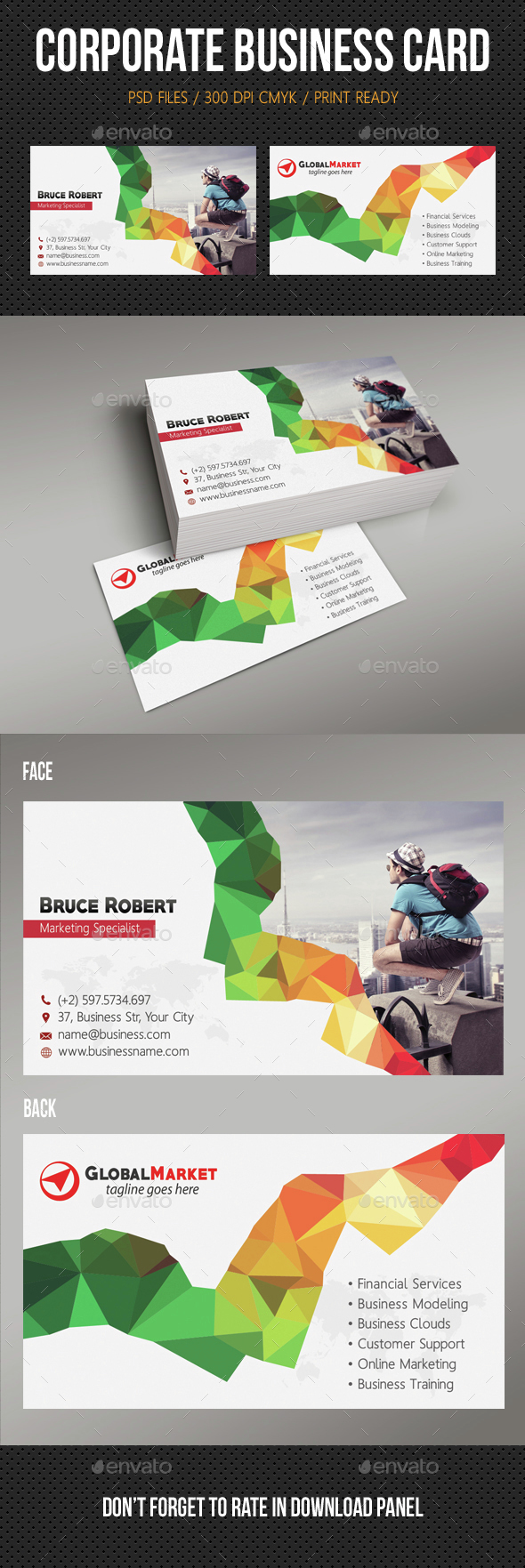 Corporate Business Card 14 - Corporate Business Cards