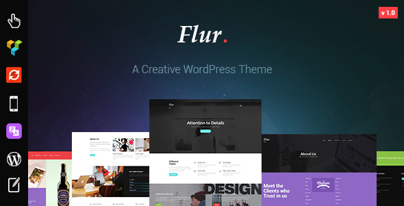 Flur - Creative WordPress Theme - Creative WordPress