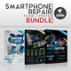 Smartphone Repair Flyer/Poster Bundle - GraphicRiver Item for Sale
