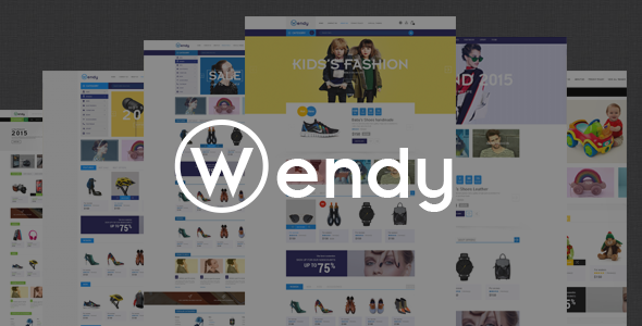 Wendy – Multipurpose eCommerce Bootstrap Template