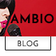 Ambio — Unique Personal Blog | Magazine PSD Theme - ThemeForest Item for Sale