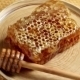 Rotating Ceramic Plate With Honeycomb And Wooden Honey Dipper - VideoHive Item for Sale