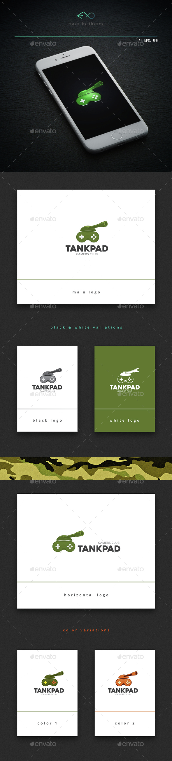 Tankpad - Objects Logo Templates