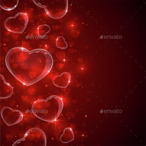 Hearts from Bubbles - Valentines Seasons/Holidays