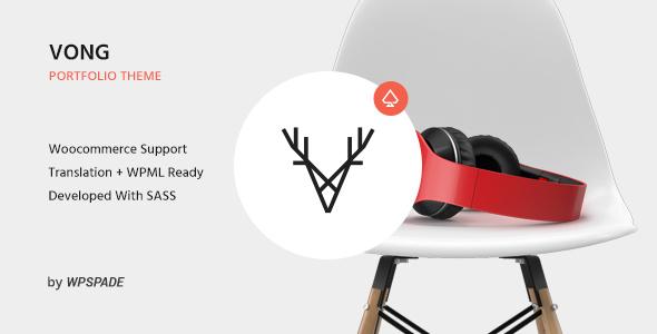Vong – Responsive Portfolio Theme