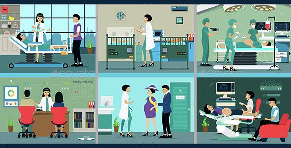 Pregnancy - Health/Medicine Conceptual